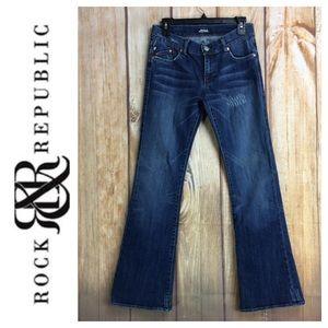 💸Rock & Republic ROTH Bootcut Denim Jean Size 27